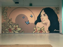 Commission mural for greenstreet.fi 2017