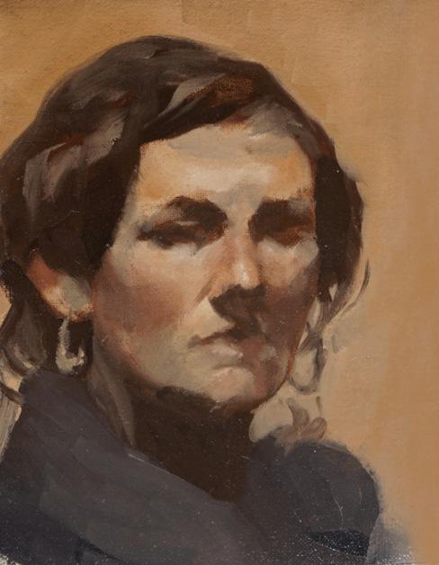 Portrait study 2017